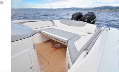 Charter motorboat Sacs Strider 10 in Ibiza city - Ibiza (Balearic Islands)
