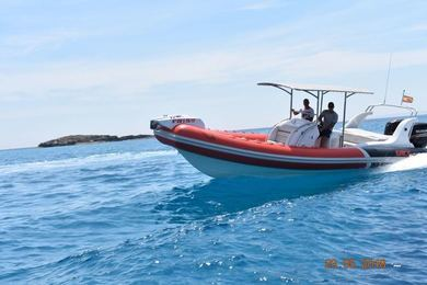 Rental motorboat Sacs Samurai in Ibiza city - Ibiza (Balearic Islands)