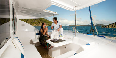 Charter catamaran Moorings 4800 in St. George city - St George