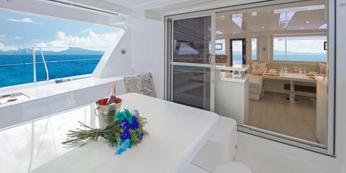 Hire catamaran Moorings 4800 in St. George city - St George