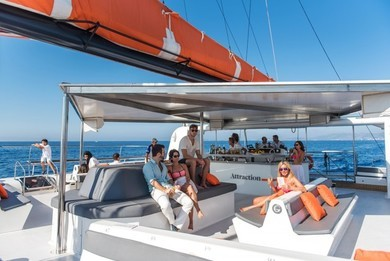 Rental catamaran Catamaran in Palma de Mallorca - Majorca (Balearic Islands)