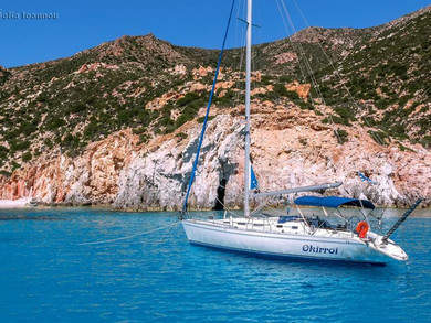Hire sailboat Athena 44 in Syros - Cyclades Islands