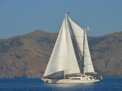 Hire sailboat Perini 131 in Phuket city - Phuket
