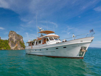 Hire motorboat Cheoy Lee 66 in Phuket city - Phuket
