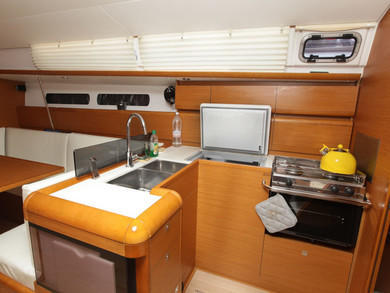 Charter sailboat Sun Odyssey 439 in Tivat city - Tivat