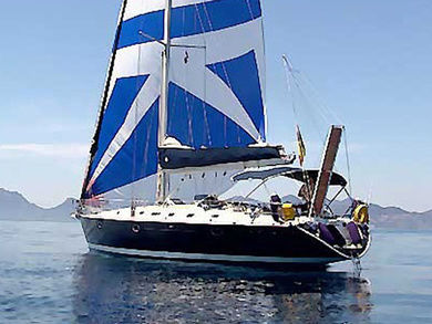 Charter sailboat Alfa 51 in Syros - Cyclades Islands