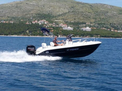 Hire motorboat Fisher 17 Open Line in Trogir - Split