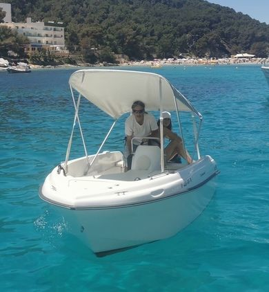 Rental motorboat Compass - 400 GT in Santa Eulalia - Ibiza (Balearic Islands)