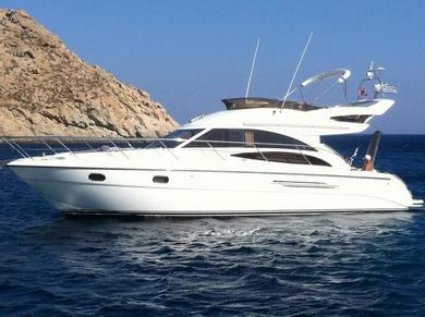 Hire motorboat PRINCESS 42 in Mykonos - Cyclades Islands