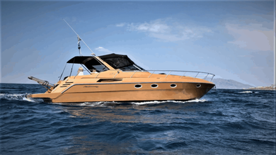Charter motorboat Cranchi Mediterranee 40 in Mykonos - Cyclades Islands