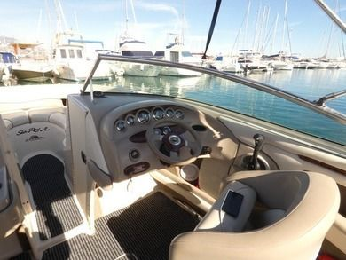 Charter motorboat Sea Ray Select 220 in Fuengirola - Malaga
