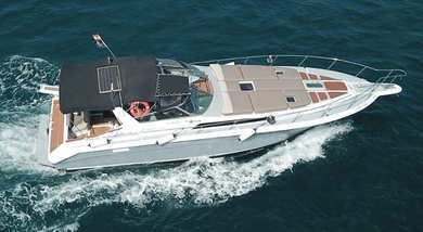 Charter motorboat Sea Ray 440 in Fuengirola - Malaga