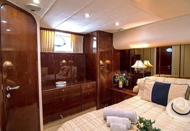 Charter luxury yacht Princess 20M in Piraeus - Attica