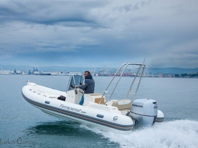 Rental motorboat Tempest 600 in Sukosan - Zadar