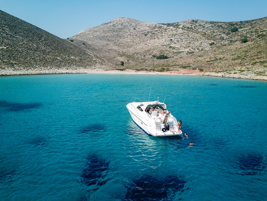 Charter motorboat Cantieri di Sarnico 45 in Kos - Dodecanese Islands
