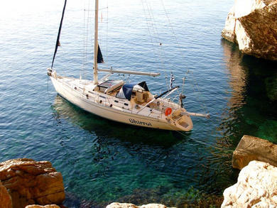 Hire sailboat Sun Odyssey 440 in Syros - Cyclades Islands