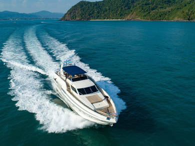 Hire luxury yacht Posillipo Technema 82 in Phuket city - Phuket