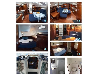 Charter sailboat Oceanis 393 Clipper in Volos - Thessalia