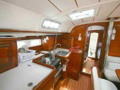 Charter sailboat Oceanis 41 in  -