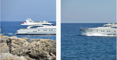 Hire luxury yacht Ferretti in Rhodes - Dodecanese Islands