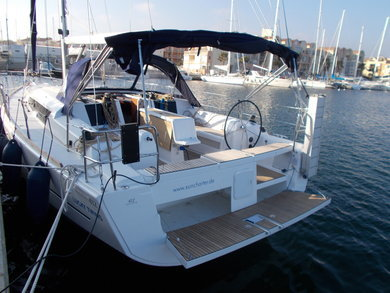Charter sailboat Dufour 412 in Palma de Mallorca - Majorca (Balearic Islands)