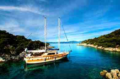 Charter gulet Traditional. CM in mugla - marmaris