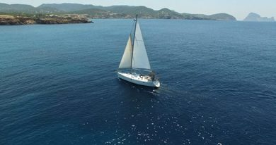 Hire sailboat Beneteau Oceanis 383 in Sant Antoni de Portmany - Ibiza (Balearic Islands)