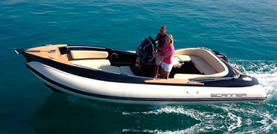 Hire motorboat Scanner Envy 870D in Santa Ponsa - Majorca (Balearic Islands)