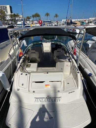 Rental motorboat SEA RAY 260 SD in Marbella - Malaga