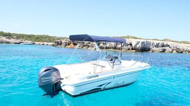 Rental motorboat CAP CAMARAT 545 OPEN in Cala'n Bosch - Minorca (Balearic Islands)