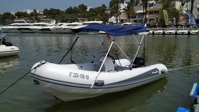 Charter motorboat Protender SX440 in Cala D'Or - Majorca (Balearic Islands)