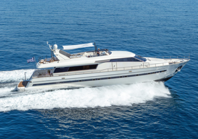 Charter luxury yacht Sanlorenzo 82 in Halkidiki - Dodecanese Islands