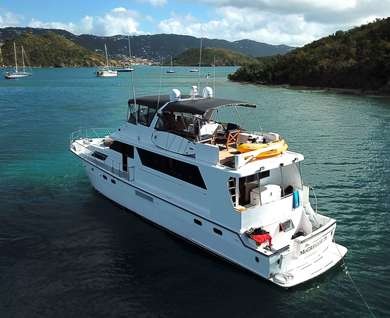 Rental luxury yacht Jefferson in Crown Bay - Saint Thomas