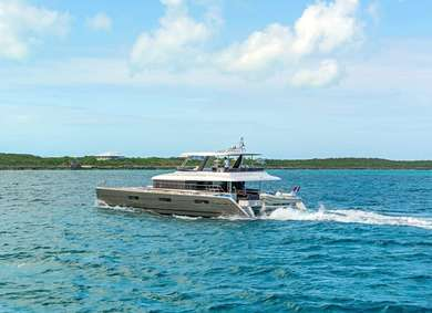Charter luxury yacht Lagoon 62 in Road Town - Tortola