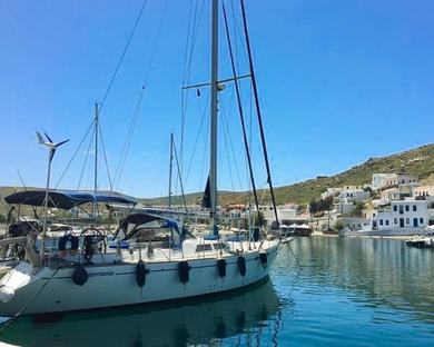 Rental sailboat Atlantic 60 in Syros - Cyclades Islands