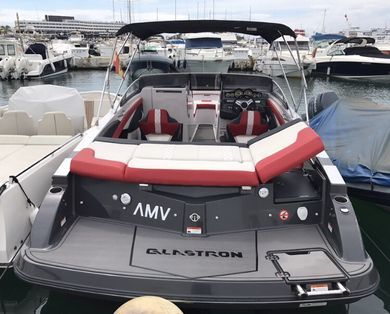 Charter motorboat Glastron GTS 245 in Ibiza city - Ibiza (Balearic Islands)