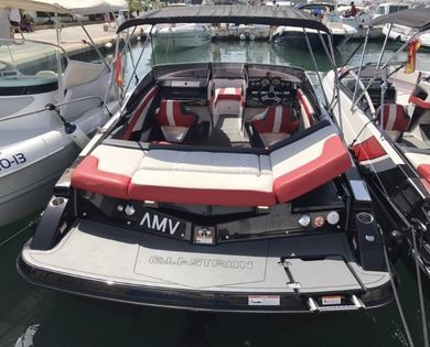 Rental motorboat Glastron GTS 225 in Ibiza city - Ibiza (Balearic Islands)