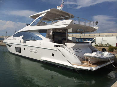Rental luxury yacht Azimut 80 in Phuket city - Phuket