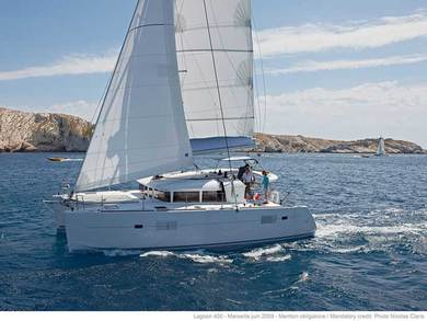 Charter catamaran Lagoon 400 S2 in Tivat city - Tivat