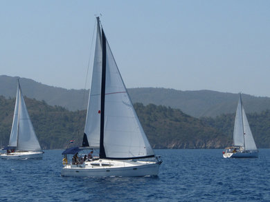 Hire sailboat Sun Odyssey 35-2 Cabin in Fethiye - Mugla