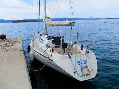 Charter sailboat Dehler 34 in Biograd - Zadar