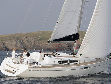 Rental sailboat JEANNEAU SO 36i in Sant Antoni de Portmany - Ibiza (Balearic Islands)