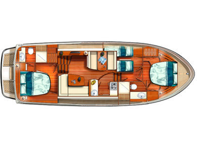 Hire luxury yacht Linssen GS 40.9 AC in Kortgene - Zeeland