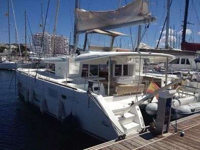 Rental catamaran Lagoon 450 in Sant Antoni de Portmany - Ibiza (Balearic Islands)