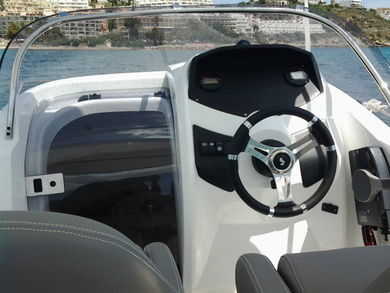 Hire motorboat Beneteau - Flyer 550 Sun Deck in Ibiza city - Ibiza (Balearic Islands)