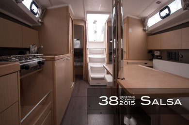 Hire sailboat Oceanis 38 (3 cabins) in Tivat city - Tivat