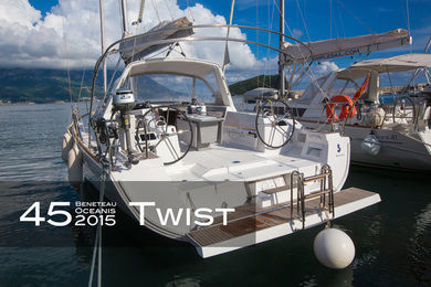 Charter sailboat Oceanis 45 (4 cabins, standart mainsail) in Tivat city - Tivat