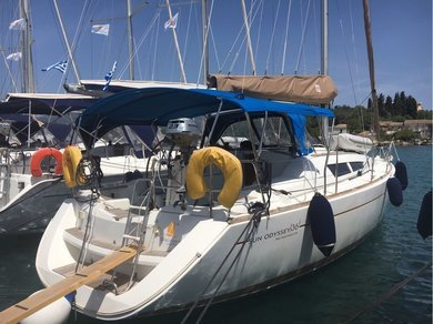 Charter sailboat Sun Odyssey 36i in Corfu - Ionian Islands
