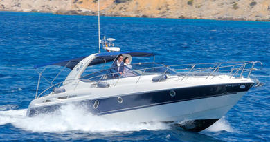 Rental motorboat Cranchi Endurance 41 in Santa Ponsa - Majorca (Balearic Islands)