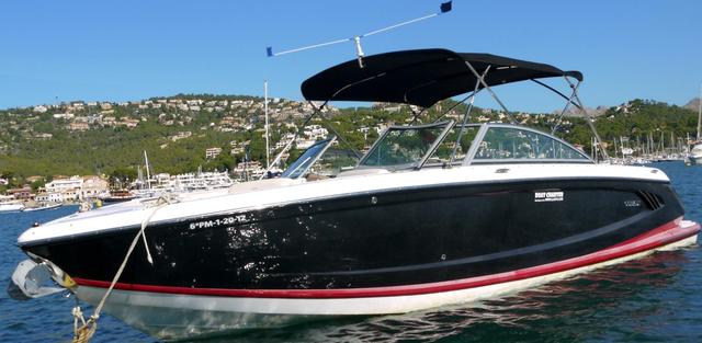 Rental motorboat Cobalt A28 in Andratx - Majorca (Balearic Islands)